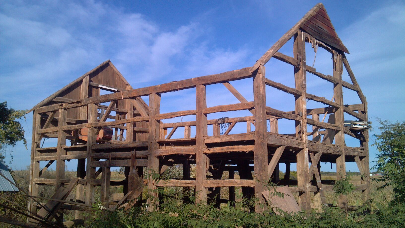 big wood timber frames barn kits