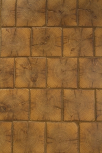 End Grain Timber Tile