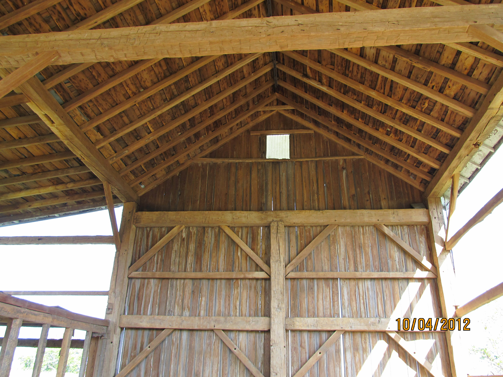 24 X 36 Pre Cut Eastern White Pine Timber Frame Timber