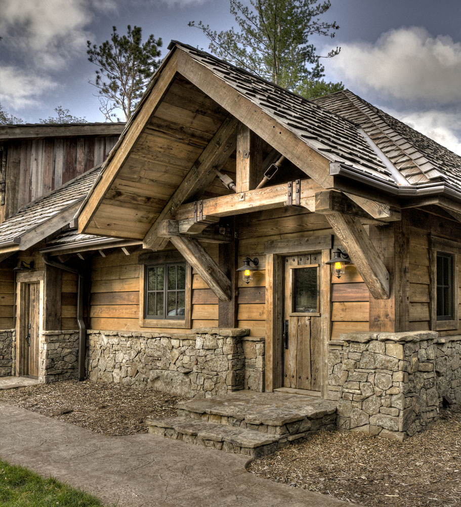 Big Wood Timber Frames – Gull Lake Retreat