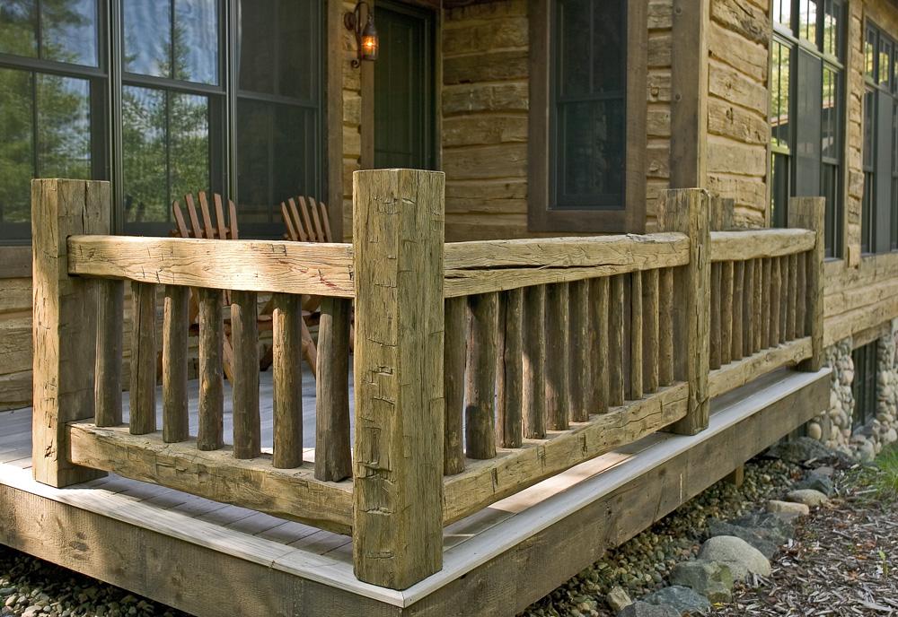 Deck Railing 002 Big Wood Timber Frames