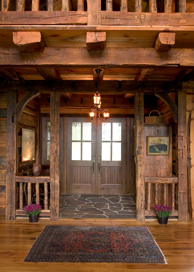 Big Wood Timber Frames – Entryway 005