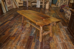774 original surface oak table