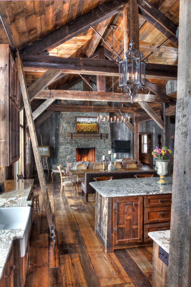 Big Wood Timber Frames St Boni Ranch